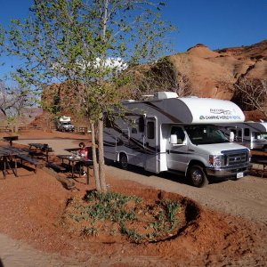 Gouldings Campground - Monument Valley