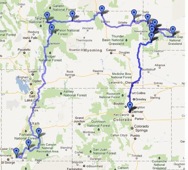 Von Denver Nach Las Vegas Unsere 3reise In Den Westen Der Usa